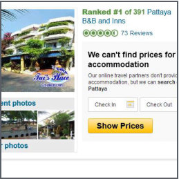 TripAdvisor first time top placement report
